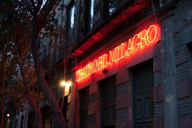 """""""El Milagro"""" o (La Inesperada Teatralidad Mexicana)"""