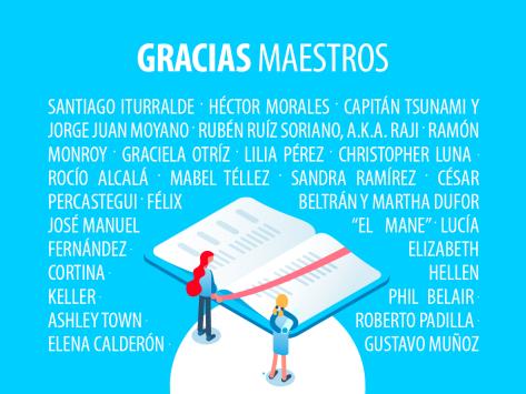 Gracias Maestros theblogbox